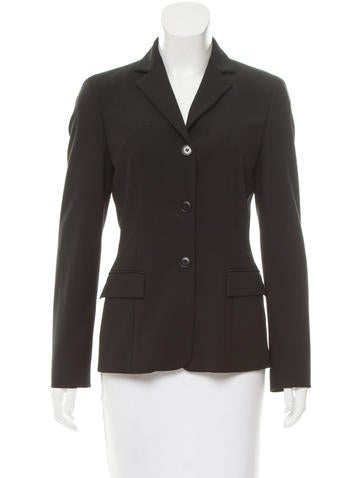 Calvin Klein Collection Lightweight Wool Jacket None