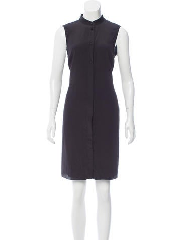 Calvin Klein Collection Silk Sleeveless Dress None