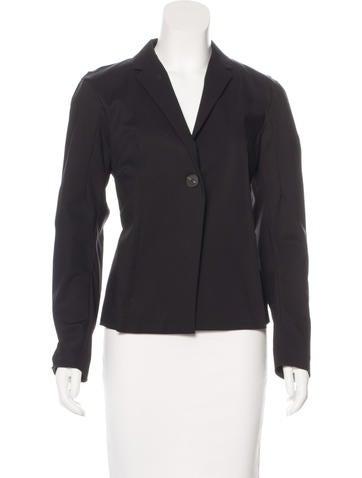 Calvin Klein Collection Notch-Lapel Single-Button Blazer w/ Tags None
