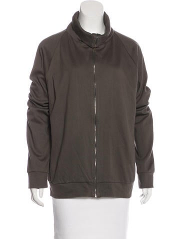 Calvin Klein Collection Lightweight Zip-Up Jacket w/ Tags None