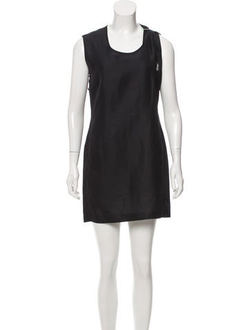 Calvin Klein Collection Textured Mini Dress w/ Tags None