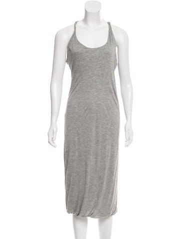 Calvin Klein Collection Sleeveless Midi Dress w/ Tags None