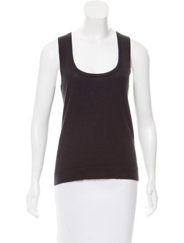 Calvin Klein Collection Cashmere Sleeveless Top None