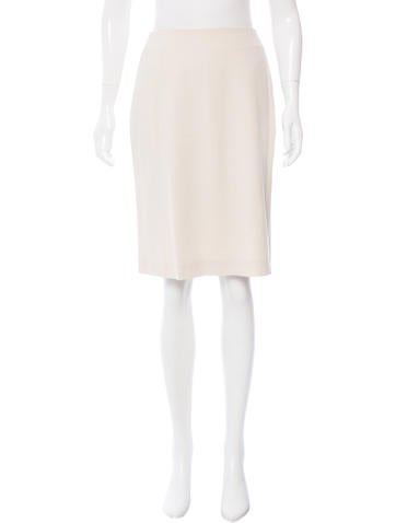 Calvin Klein Collection Wool Knee-Length Skirt None