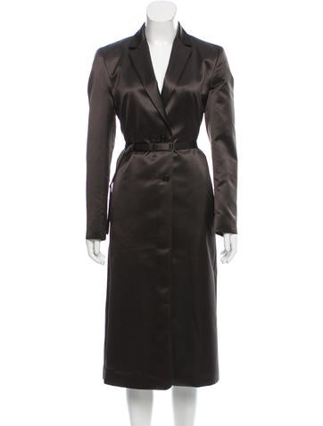 Calvin Klein Collection Belted Structured Coat w/ Tags None