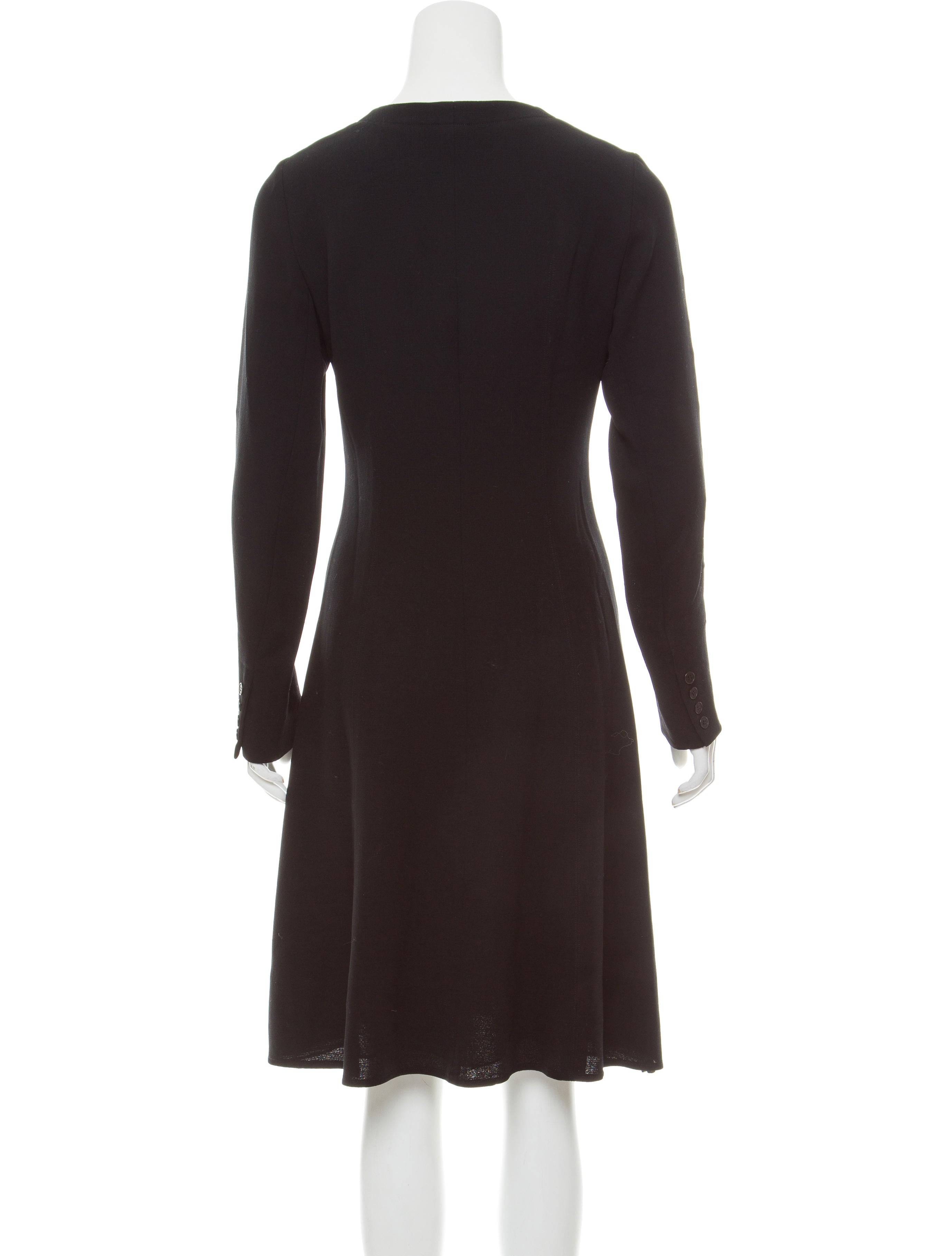 Calvin klein collection long sleeve wool dress clothing for Calvin klein dress shirts sale