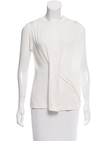 Calvin Klein Collection Draped Sleeveless Top None