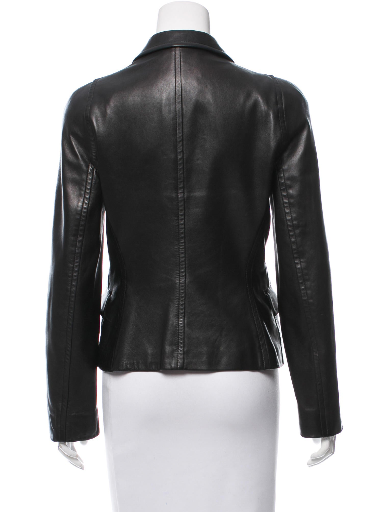Calvin Klein Collection Leather Jacket Clothing