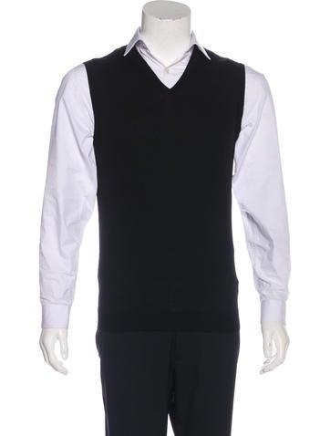 Calvin Klein Collection Cashmere Sweater Vest None