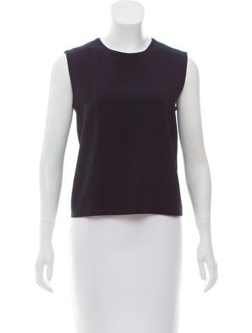 Calvin Klein Collection Sleeveless Wool Top None