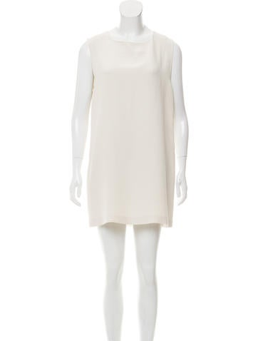 Calvin Klein Collection Silk Shift Dress None