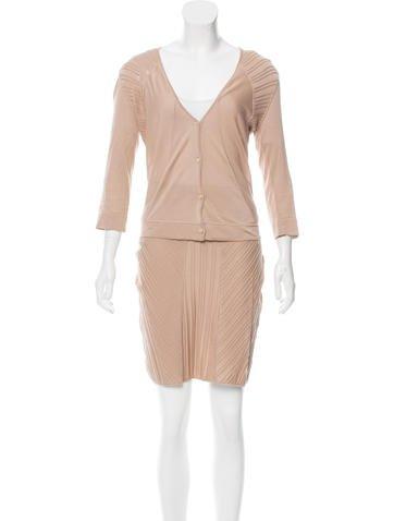 Calvin Klein Collection Knee-Length Skirt Set None