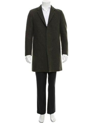 Calvin Klein Collection Wool Car Coat None