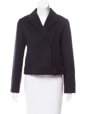 Calvin Klein Collection Wool & Angora-Blend Short Coat None