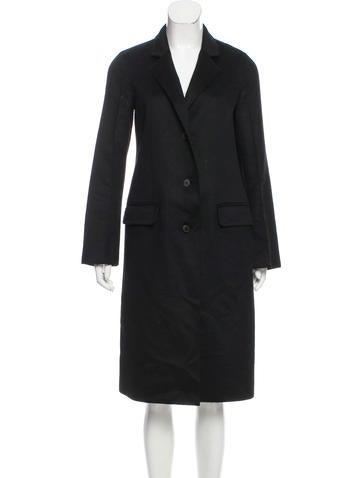 Calvin Klein Collection Cashmere Long Coat None