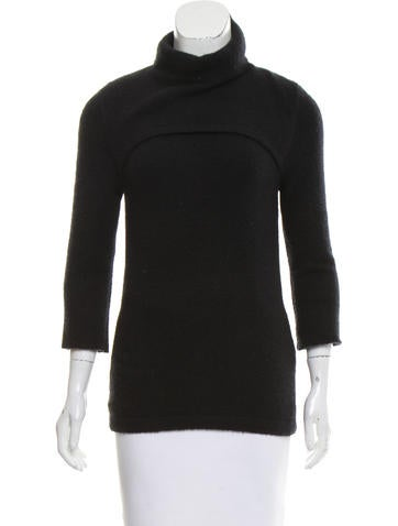 Calvin Klein Collection Cashmere Long Sleeve Sweater None