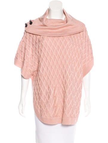 Calvin Klein Collection Oversize Knit Poncho None