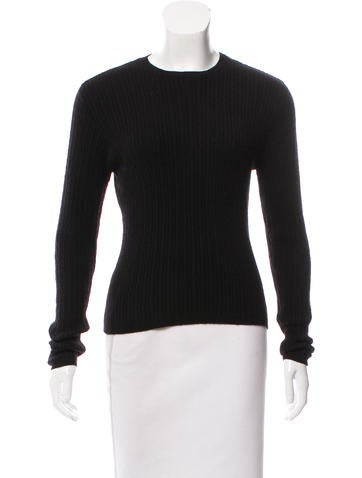 Calvin Klein Collection Cashmere Cable Knit Sweater None