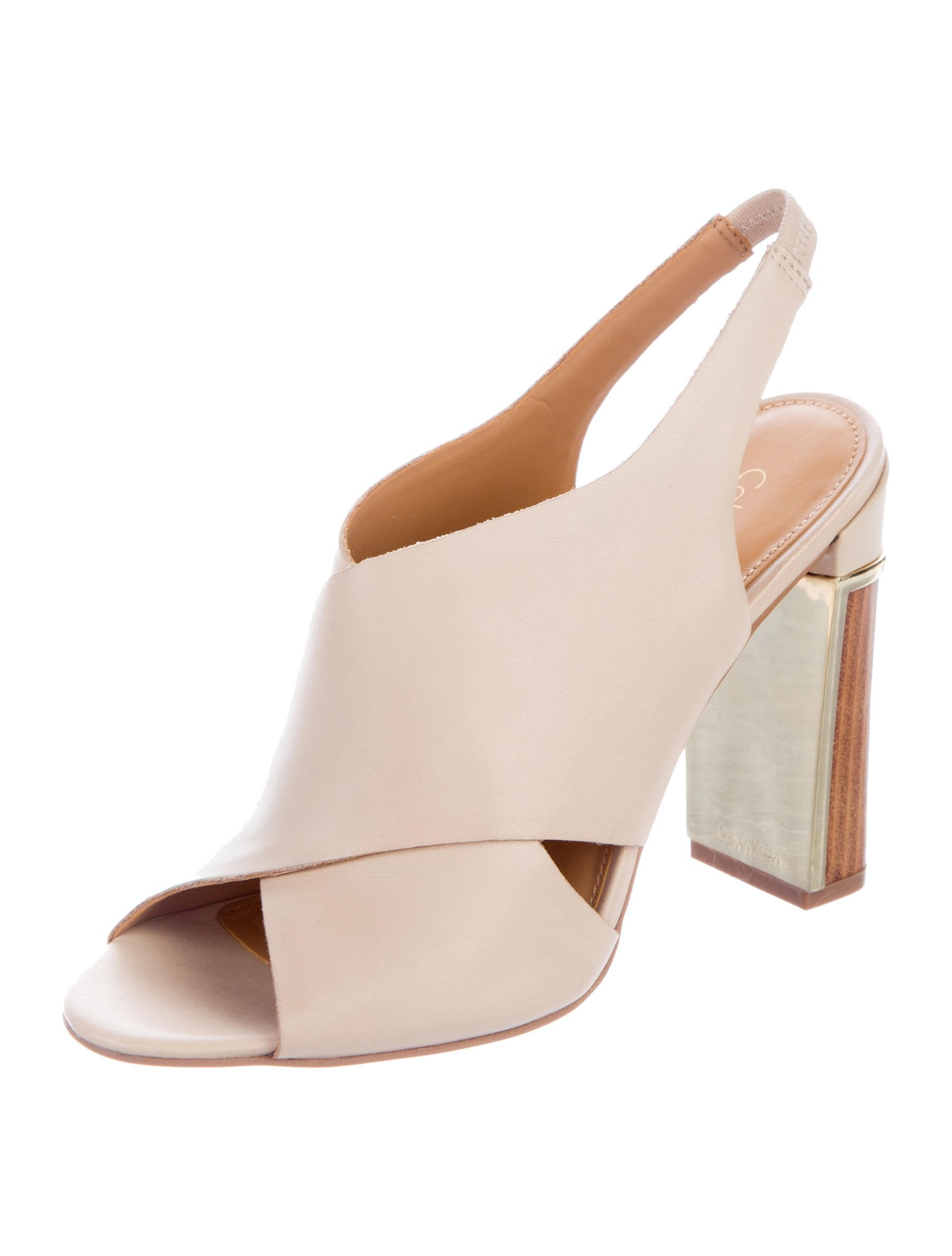Calvin Klein Collection Cocoon Slingback Sandals w/ Tags footlocker finishline for sale store sale online very cheap free shipping cheap online many kinds of online pFbJy