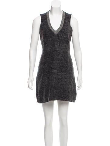 Calvin Klein Collection Wool-Blend Dress None