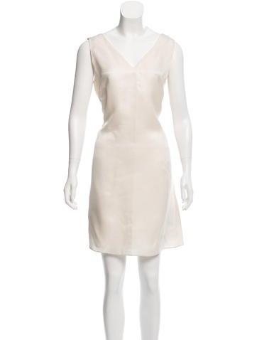 Calvin Klein Collection Silk Mini Dress None