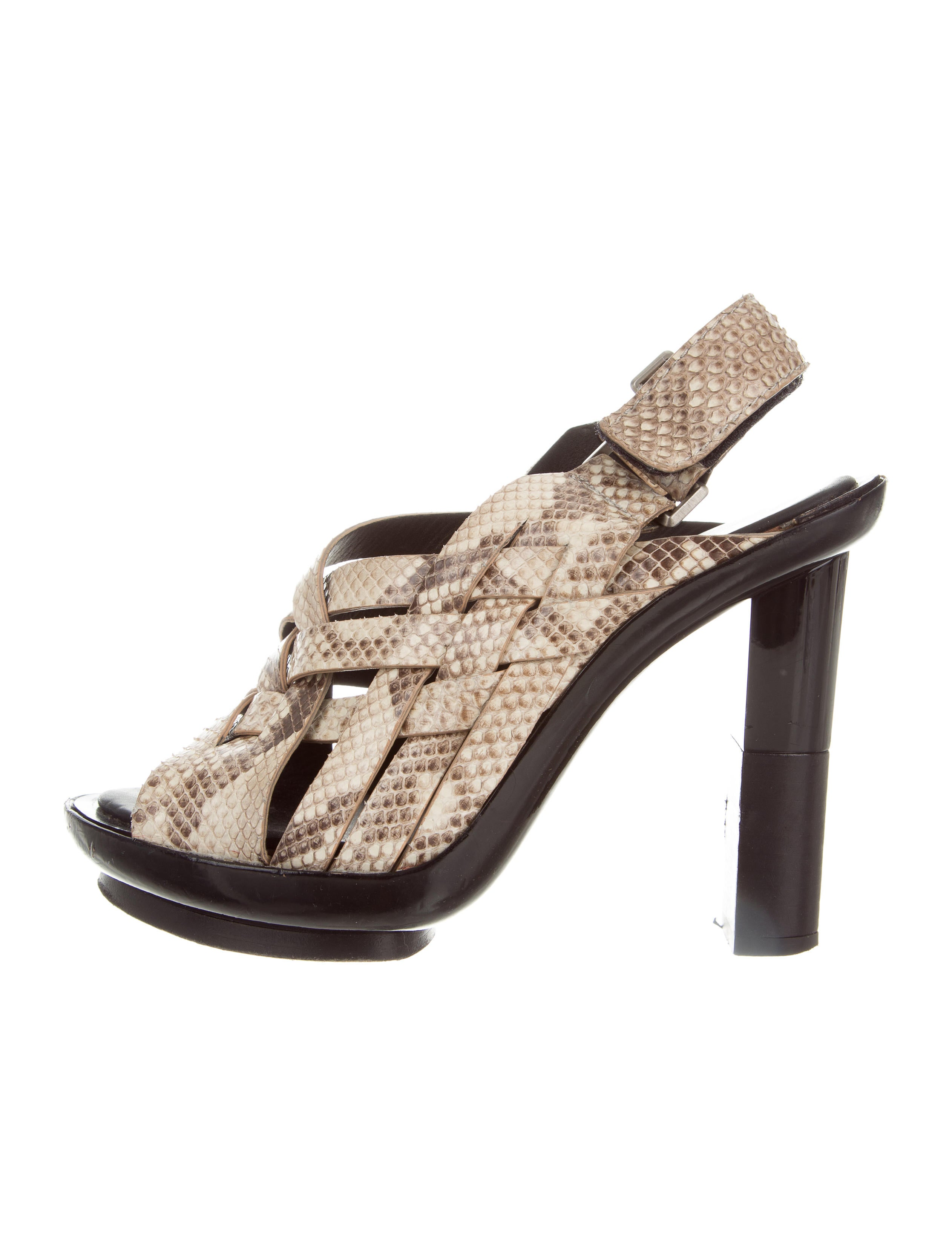 Calvin Klein Collection Multistrap Slingback Sandals free shipping pay with paypal cheap for sale PihuvR