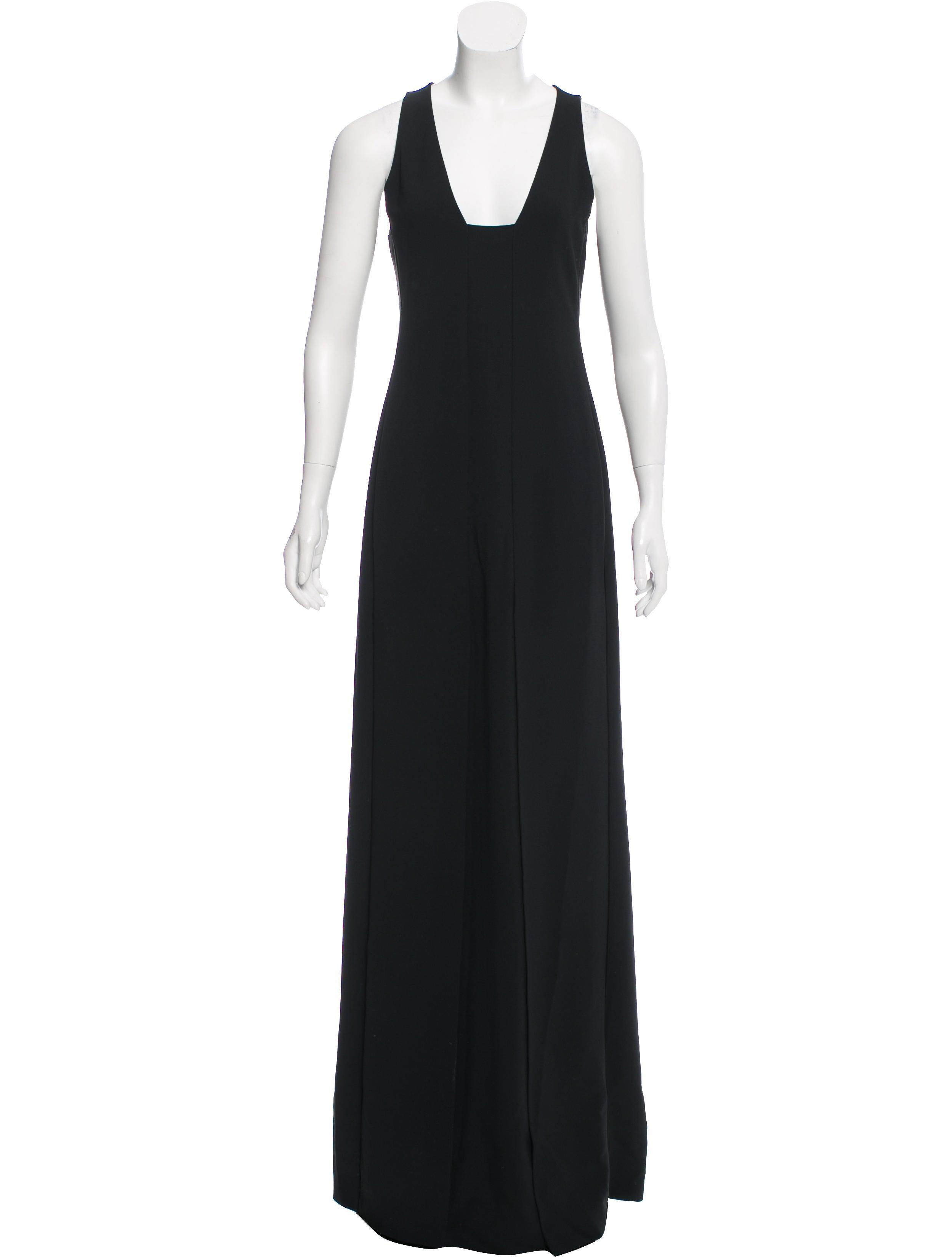 Calvin Klein Collection Sleeveless Evening Dress - Clothing ...