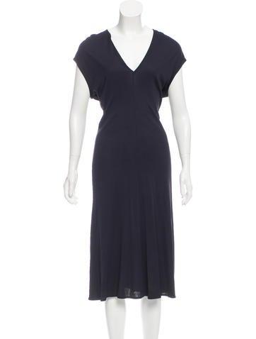 Calvin Klein Collection Jersey Midi Dress None