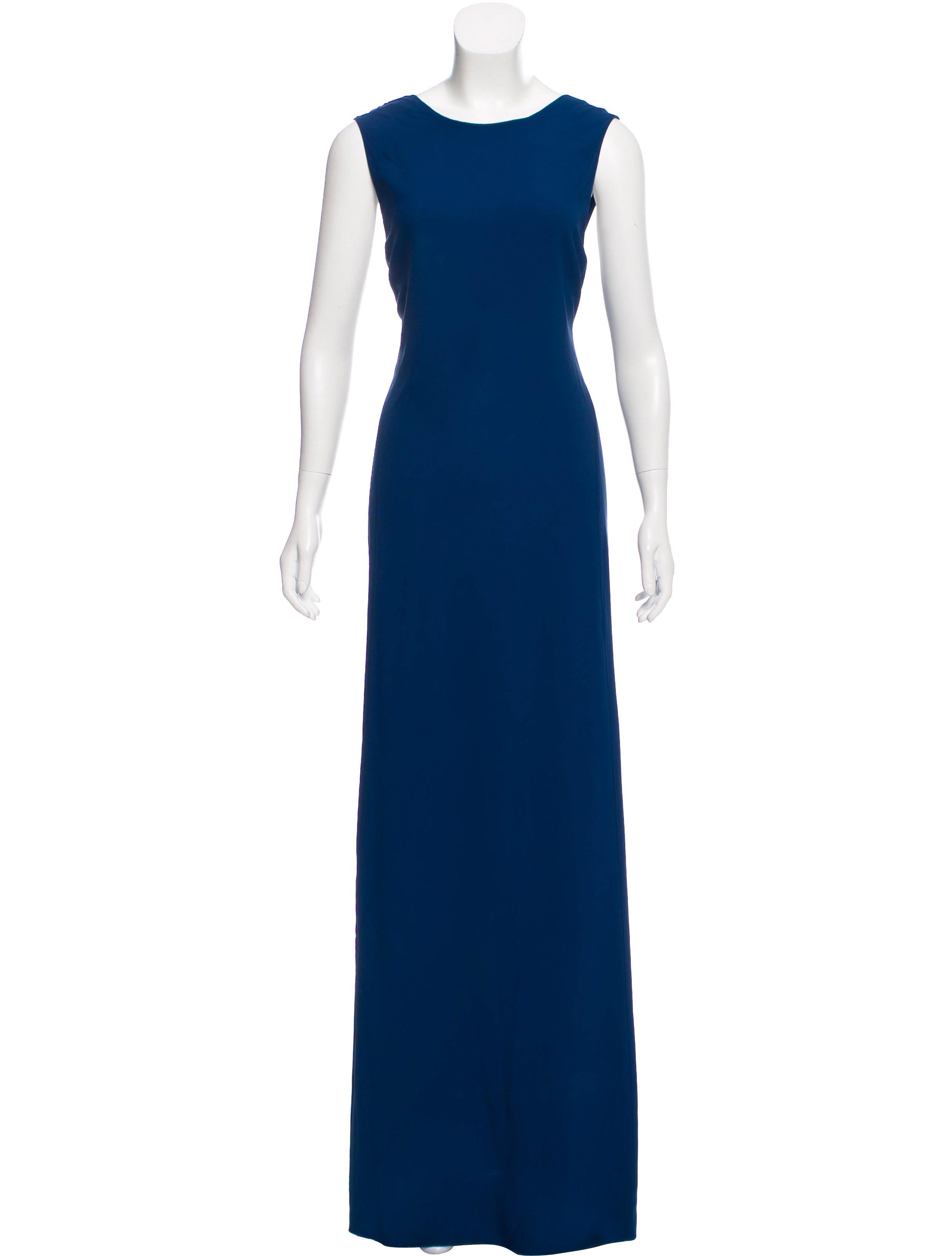 Calvin Klein Collection Pirallahi Island Evening Dress - Clothing ...