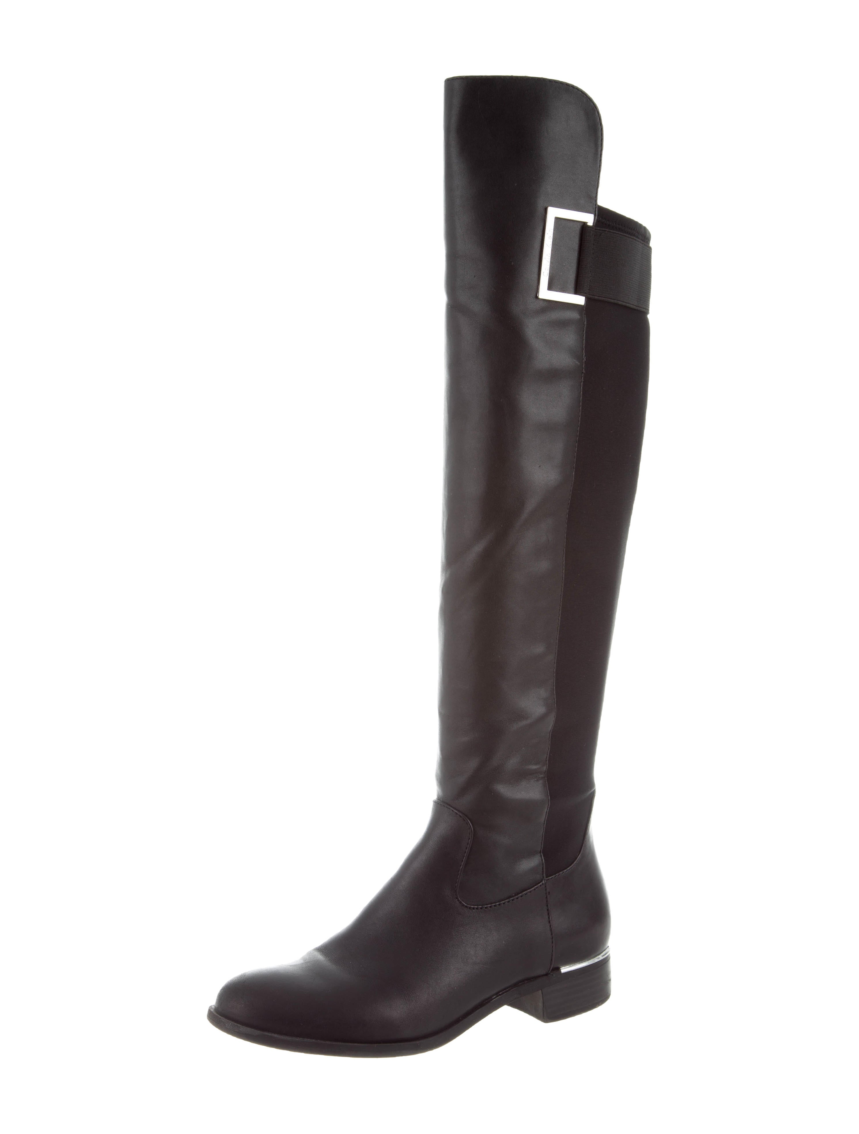 cheap price cost Calvin Klein Collection Round-Toe Over-The-Knee Boots buy cheap fashionable fashion Style cheap price free shipping hot sale uxes5rj