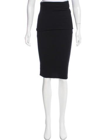 Calvin Klein Collection Cashmere Midi Dress None