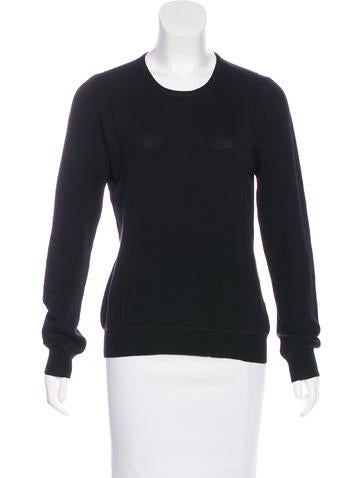 Calvin Klein Collection Wool Knit Sweater None