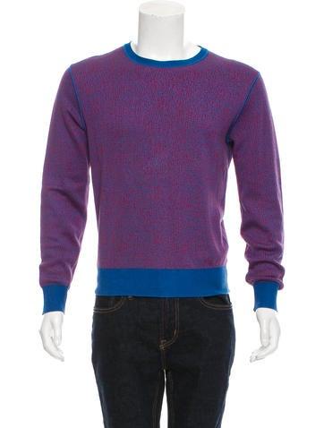Calvin Klein Collection Abstract Intarsia Sweater None