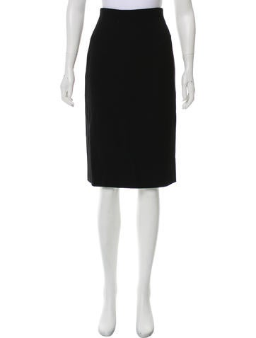 Calvin Klein Collection Wool Knee Length Skirt W/ Tags by Calvin Klein Collection