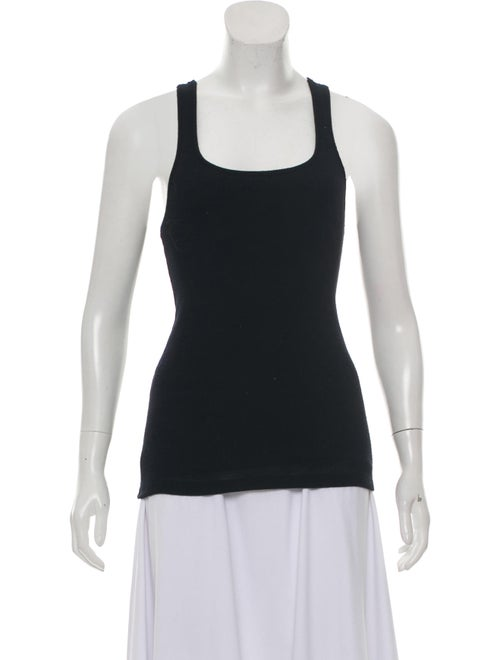 Sleeveless Wool And Silk Blend Top by Calvin Klein Collection