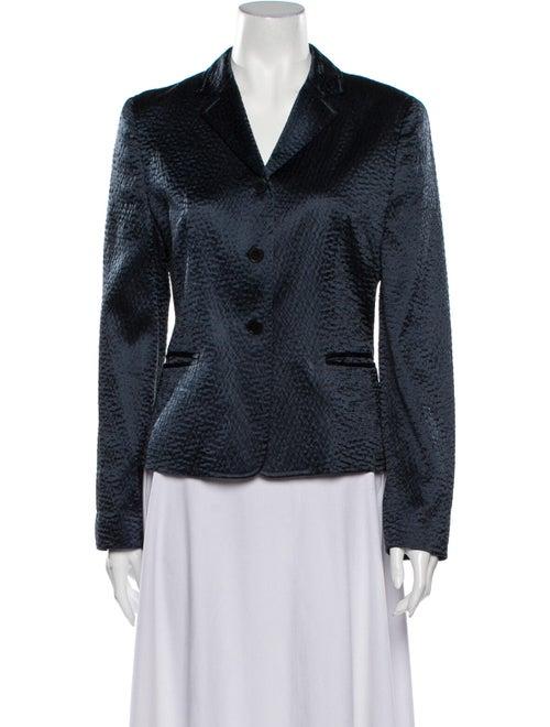 Calvin Klein Collection Silk Blazer Blue - image 1