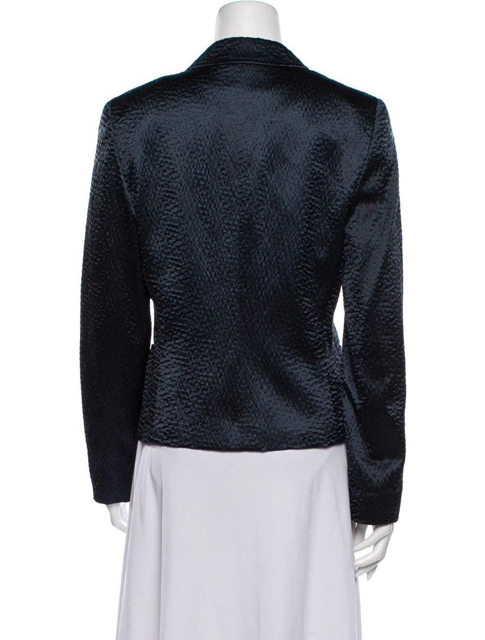 Calvin Klein Collection Silk Blazer Blue - image 3