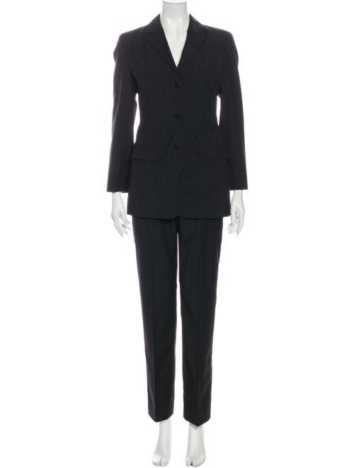 Calvin Klein Collection Wool Pantsuit Wool - image 1