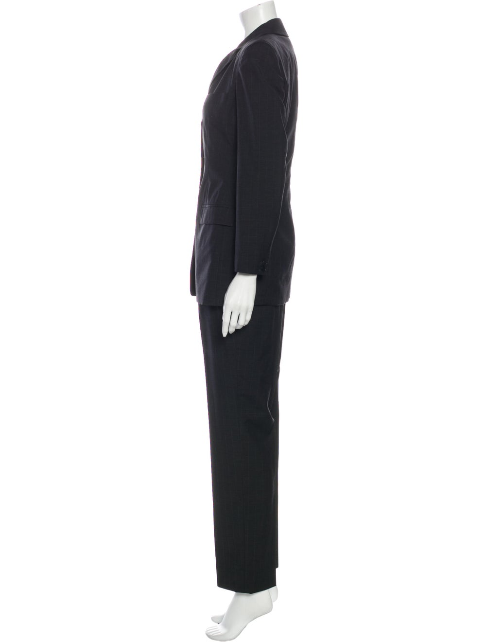 Calvin Klein Collection Wool Pantsuit Wool - image 2