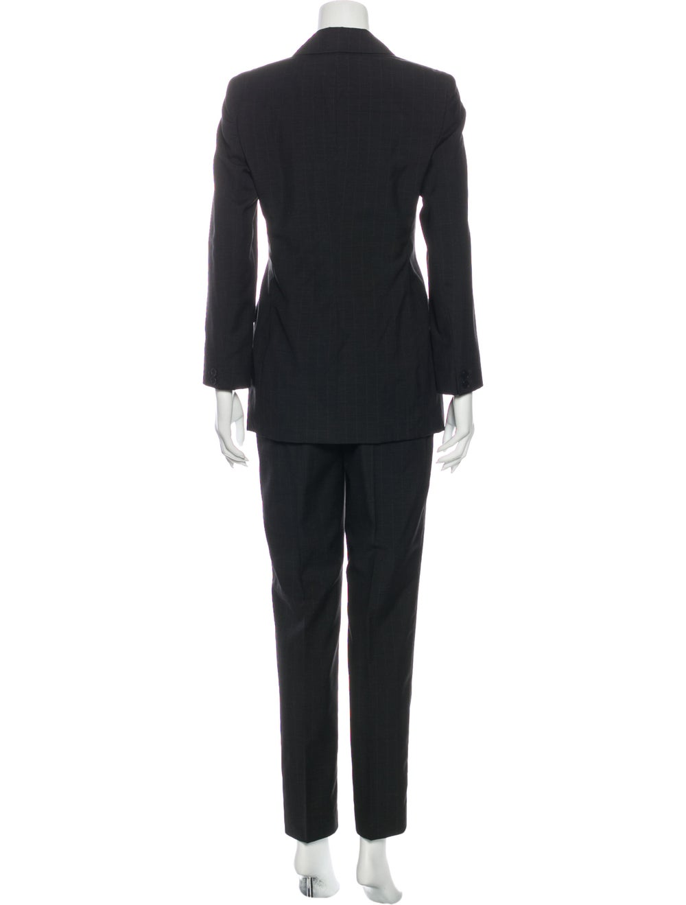 Calvin Klein Collection Wool Pantsuit Wool - image 3