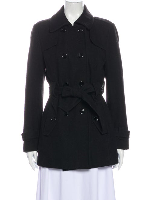 Calvin Klein Collection Trench Coat Black