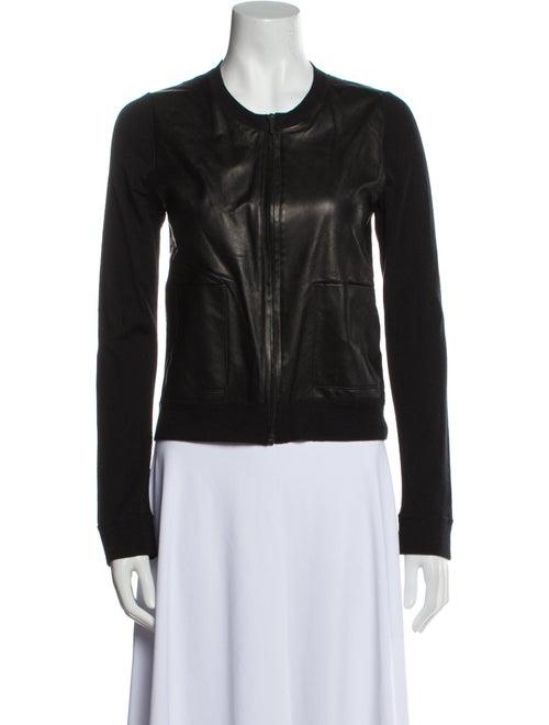 Calvin Klein Collection Biker Jacket Black - image 1