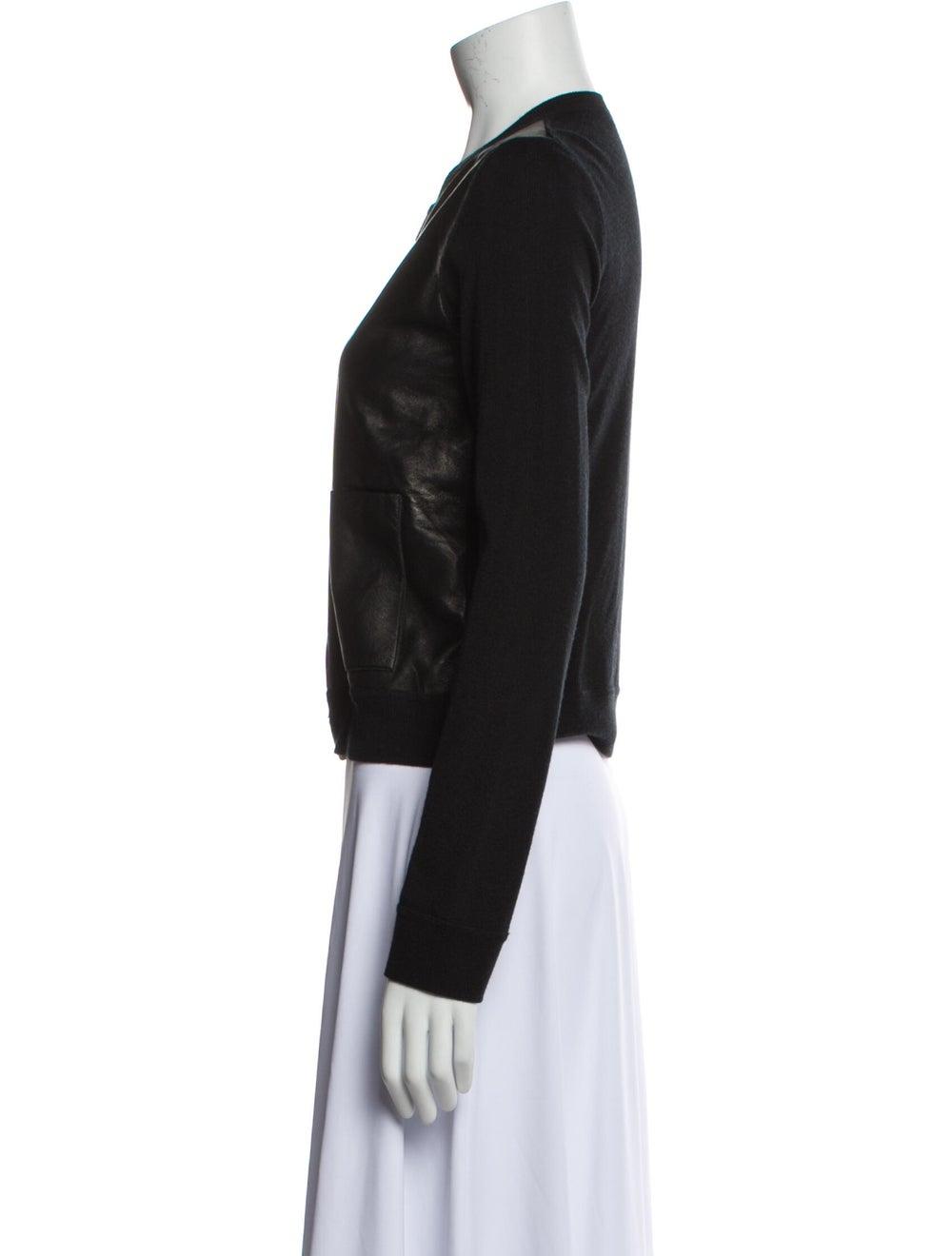 Calvin Klein Collection Biker Jacket Black - image 2