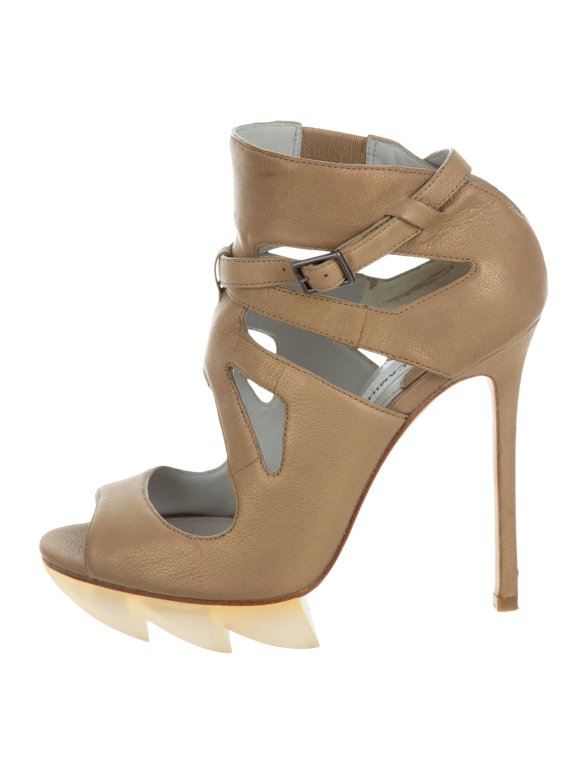 Camilla Skovgaard Metallic Platform Sandals cheap finishline store cheap price buy cheap limited edition cWCRbKq