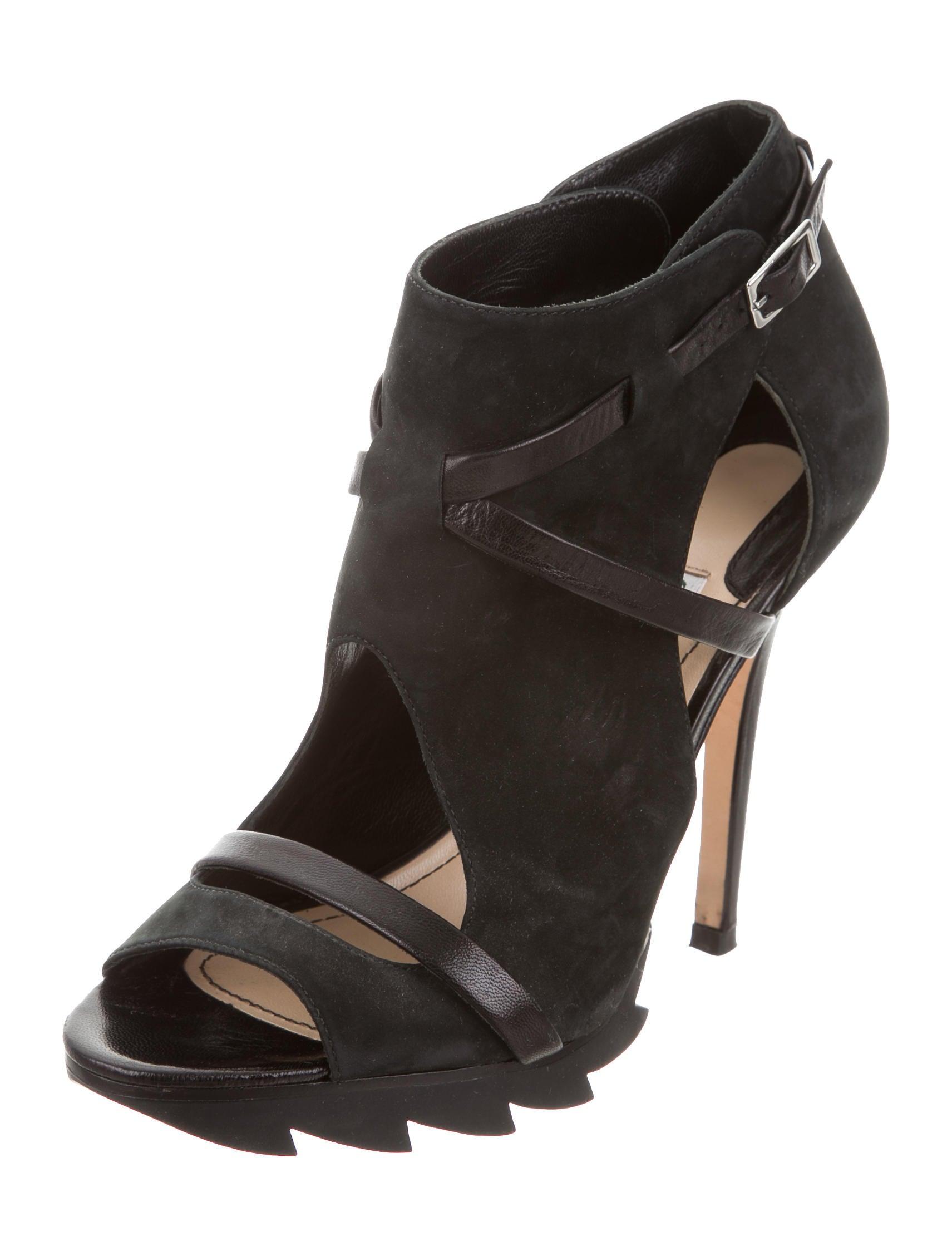 camilla skovgaard suede platform sandals shoes