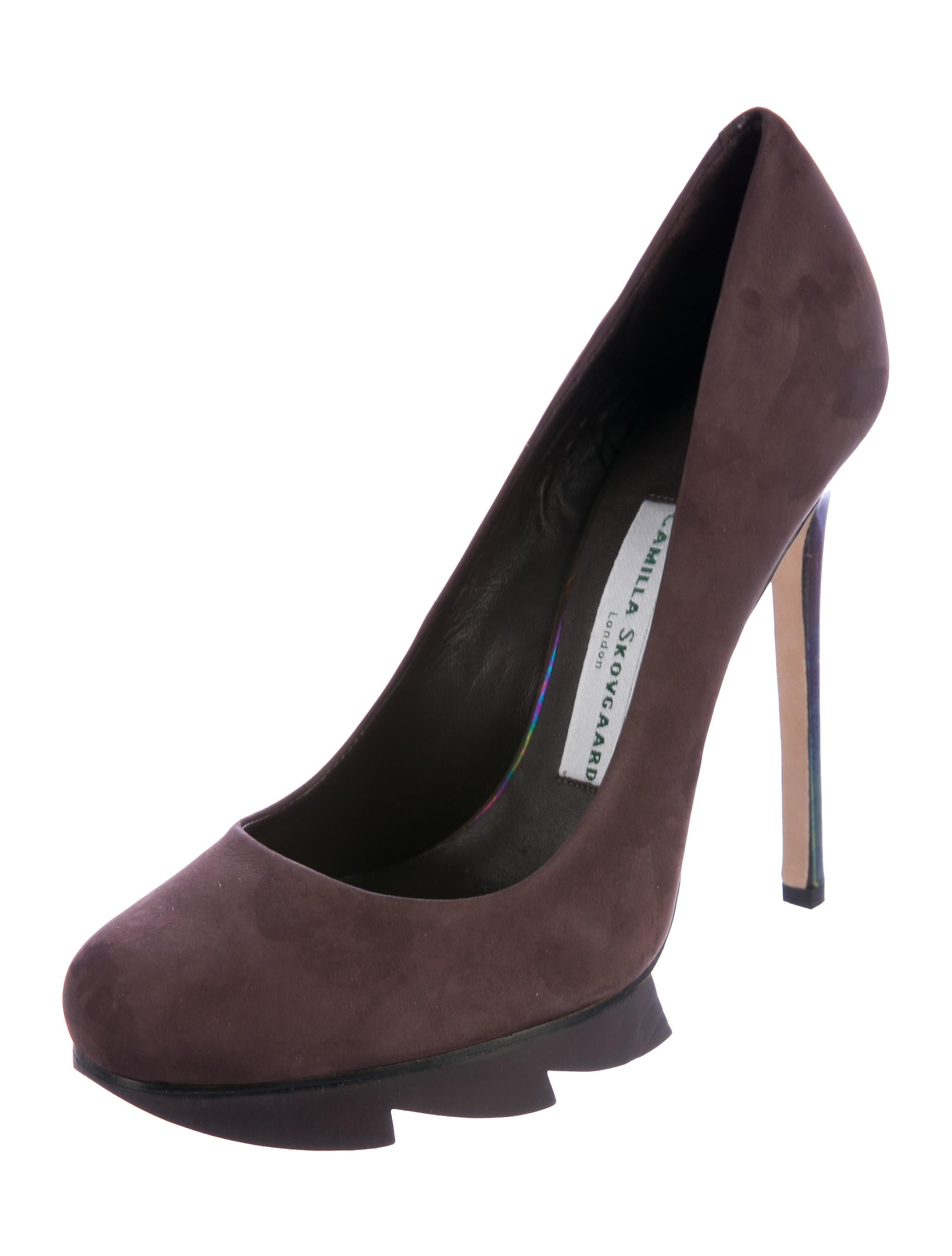 Camilla Skovgaard Suede Platform Pumps w/ Tags fast delivery exclusive sale online cheap with paypal E832gT