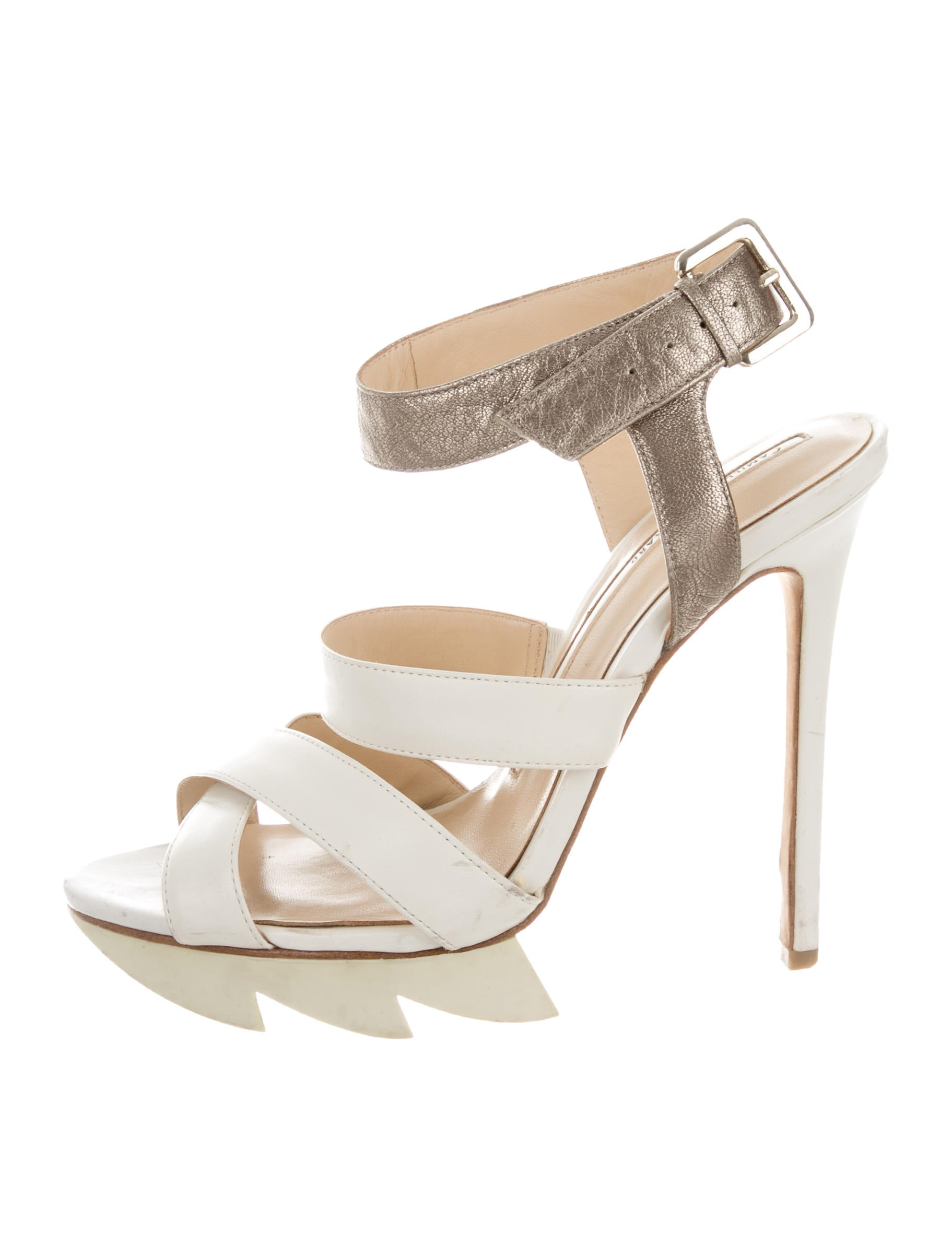 popular for sale Camilla Skovgaard Crossover Platform Sandals cheap choice excellent free shipping low price LFJMNpIG