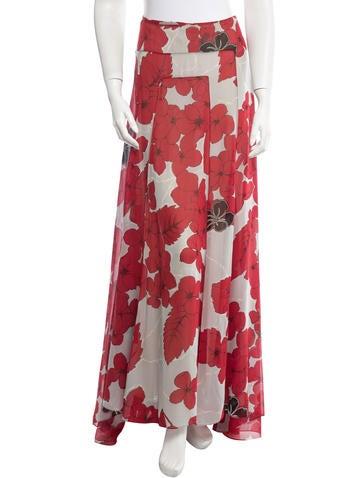 Silk Maxi Skirt
