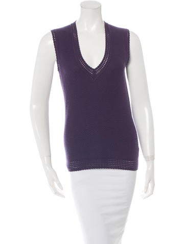 Carolina Herrera Wool Knit Top None
