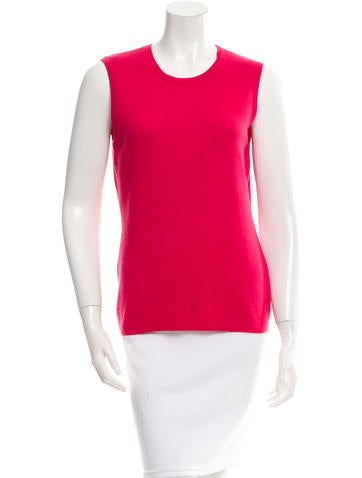 Carolina Herrera Cashmere & Silk Sleeveless Top w/ Tags None